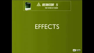 63. REAKTOR Effects