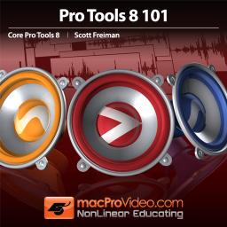 Pro Tools 8 101 Core Pro Tools 8 Product Image