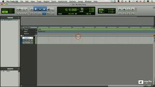 13. Configuring a Track for Recording