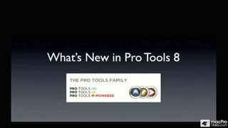 01. Introduction to Pro Tools 8