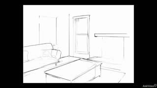 12. Drawing Details of an Interior