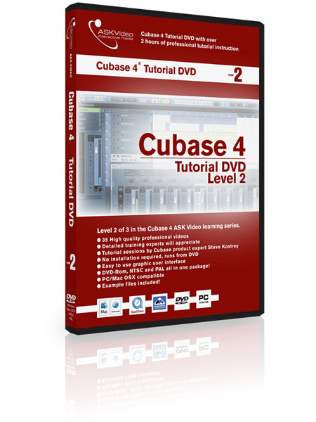 Cubase 4 502 - Working with Cubase 4 - Level 2