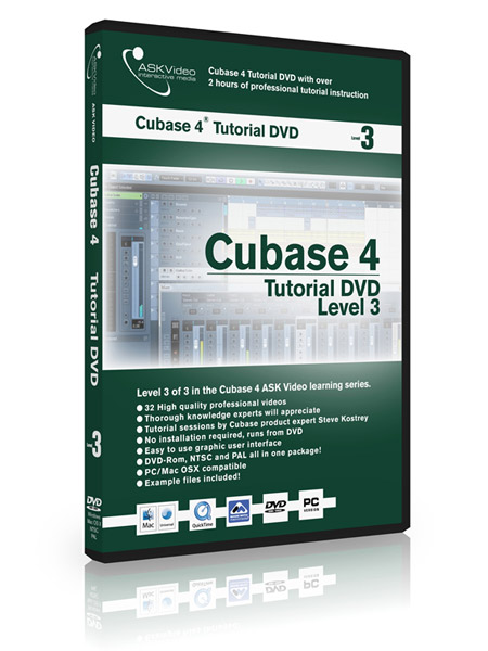 Cubase 4 503 - Working with Cubase 4 - Level 3