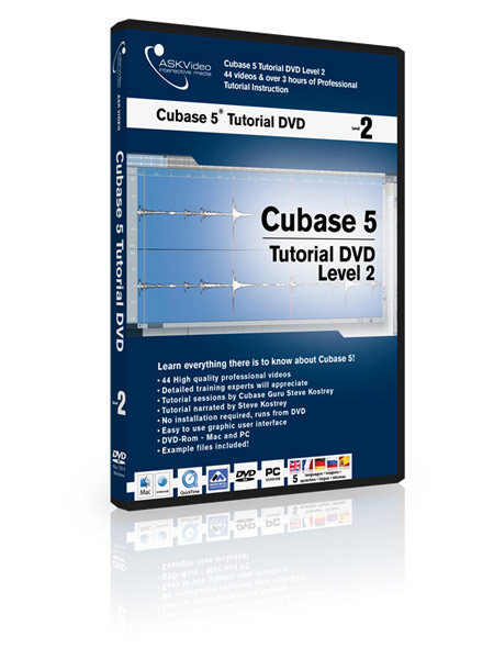 Cubase 5 502 - Working with Cubase 5 - Level 2