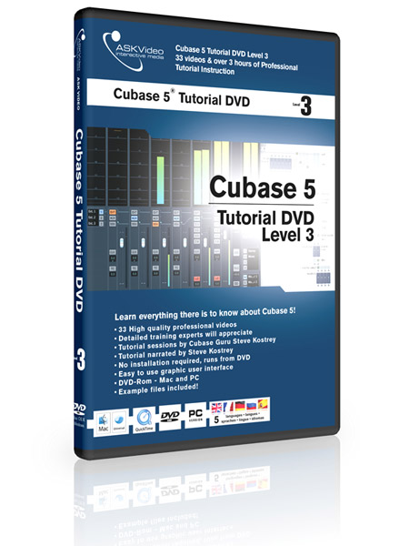 Cubase 5 503 - Working with Cubase 5 - Level 3