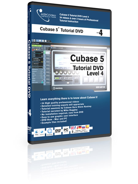 Cubase 5 504 - Working with Cubase 5 - Level 4