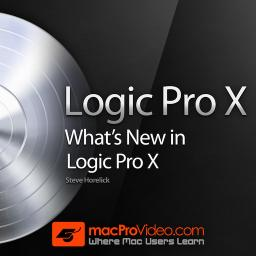 Logic Pro X What's New In Logic Pro X 10.0 Product Image