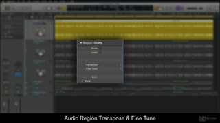 4. Audio Region Transpose