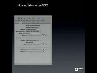 57 How and When to Use PDC