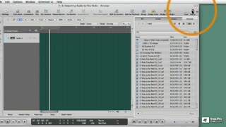 29. Importing the Audio Files Meta Data