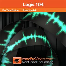 MacProVideo.com Logic 9 - 104 Flex Time Editing Tutorial (1 cd)