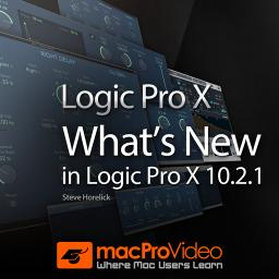 Logic Pro X 10.2.1 What's New in Logic Pro X  10.2.1 Product Image