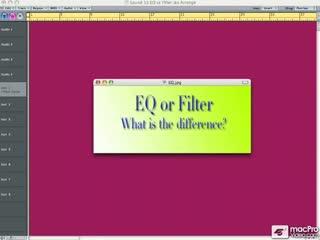09: EQ Verses Filtering