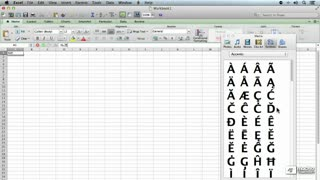 17. Inserting Symbols and Special Characters Within MS Office