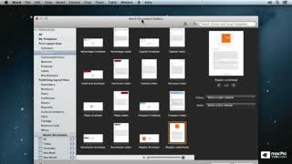 Word For Mac 101: Creating And Formatting Letters - Preview Video