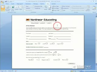 01. Microsoft Office Forms