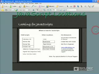 34. Examining JavaScripts in Forms