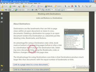 46. Linking to Destinations vs. Bookmarks
