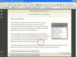 47. Creating a Link to a Destination