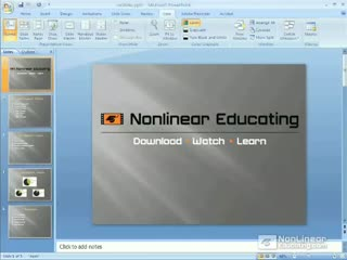 85. Creating Presentations from Microsoft PowerPoint