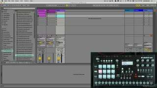14. Routing Audio from Live into RYTM