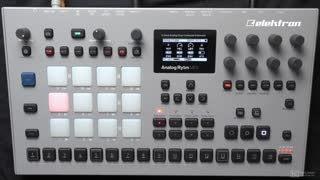 Elektron 206: Elektron 206 - Analog RYTM MKII: Beats and Samples - Preview Video