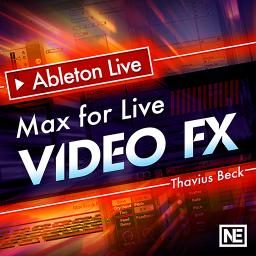 Ableton Live FastTrack 402 Max For Live Video FX Product Image
