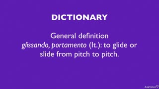 19. Glissando and Portamento