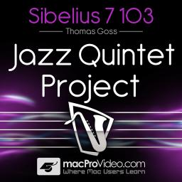 Sibelius 7 103 Jazz Quintet Project Product Image