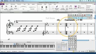18. Restoring Key, Time Signature, and Tempo