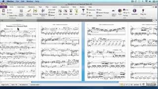 2. Creating a Piano Score