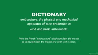 11. Embouchure, Reeds & Mouthpieces