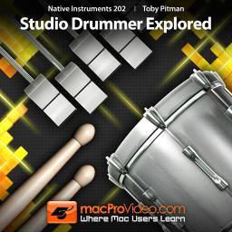 Native Instruments 202 Studio Drummer Explored Product Image