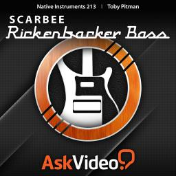 Native Instruments 213 Scarbee Rickenbacker Bass Product Image