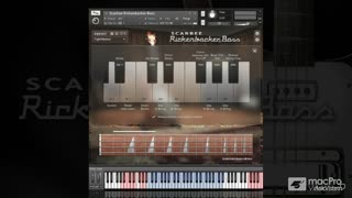 Native Instruments 213: Scarbee Rickenbacker Bass - Preview Video