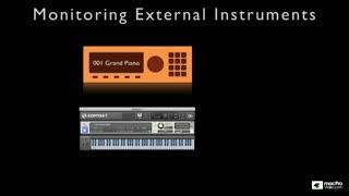 28. External MIDI Monitoring Latency