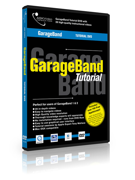 GarageBand 501 - Working with GarageBand