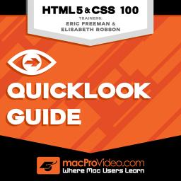 HTML & CSS 100 Quicklook Guide Product Image